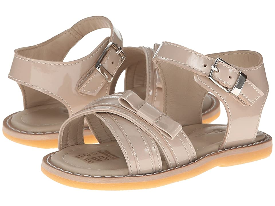 Elephantito Lili Crossed Sandal w/Bow (Toddler) (Dusty Pink) Girls Shoes