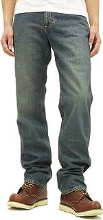 (リー)Lee 201 デニムパンツ メンズ ストレート ジーンズ 02010-94 中色ブルー
