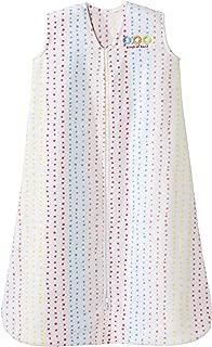 Halo Sleepsack Micro-Fleece Wearable Blanket, Multi Dots, Medium