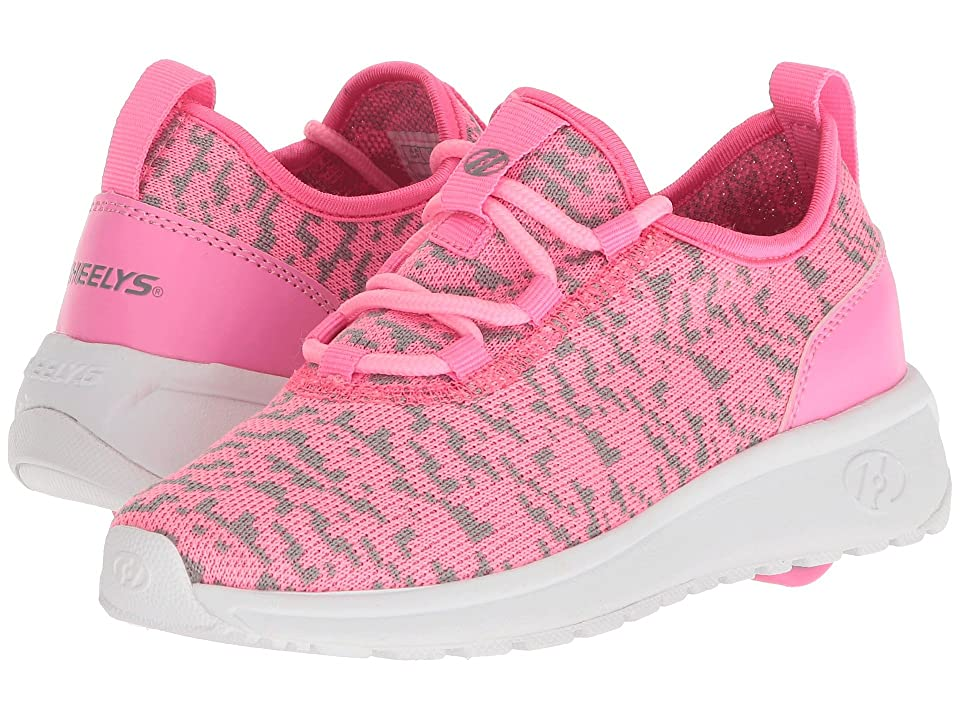 Heelys Player (Little Kid/Big Kid/Adult) (Pink/White) Girls Shoes