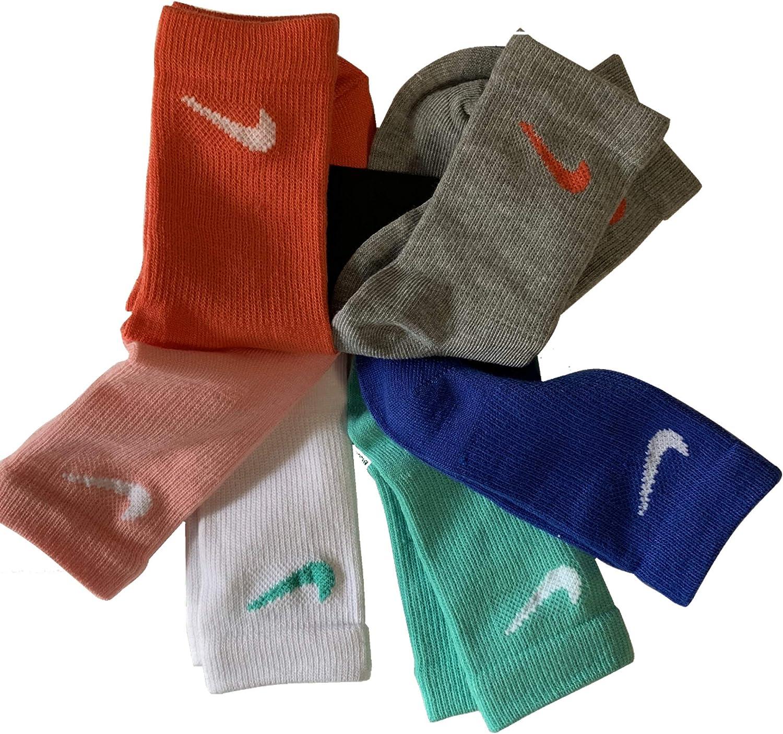 NIKE Young Athletes Kids Crew Cut Socks (6 Pairs)