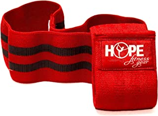 Hope Fitness Gear Booty Band - Thick Fabric Resistance Band - Non-Slip Exercise Band