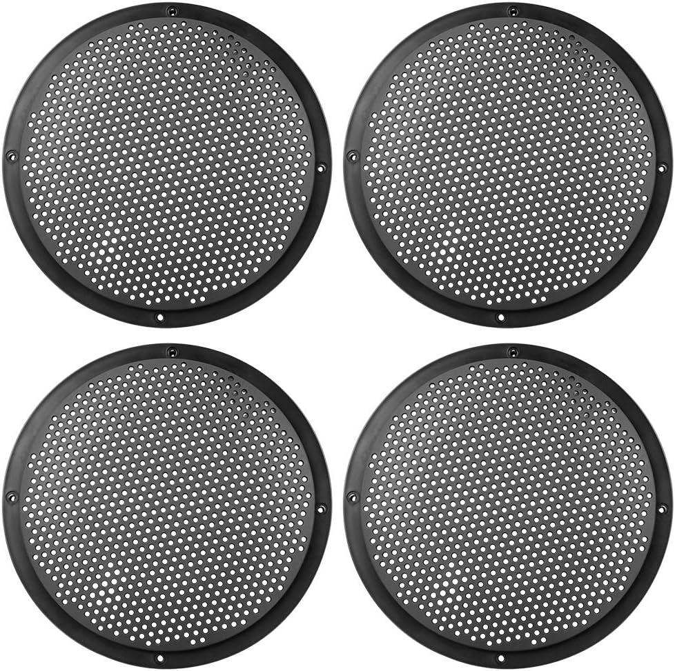 Austin Mall X AUTOHAUX 4pcs 8'' Plastic Audio Speaker Mesh Attention brand Cover Subwoofer G