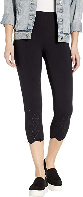 95107ecfc71d76 HUE Printed Front Lightweight Knit Leggings at Zappos.com