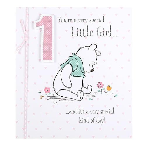 Hallmark Disney Baby Winnie The Pooh 1st Birthday Card1