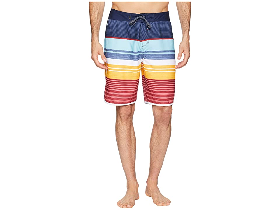 Quiksilver Eye Scallop 20 Boardshorts (Navy Blazer) Men