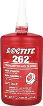Best Loctite 135375 Red 262 High Strength Thread Locker, 300 degrees F Maximum Temperature, 250 mL Bottle Review