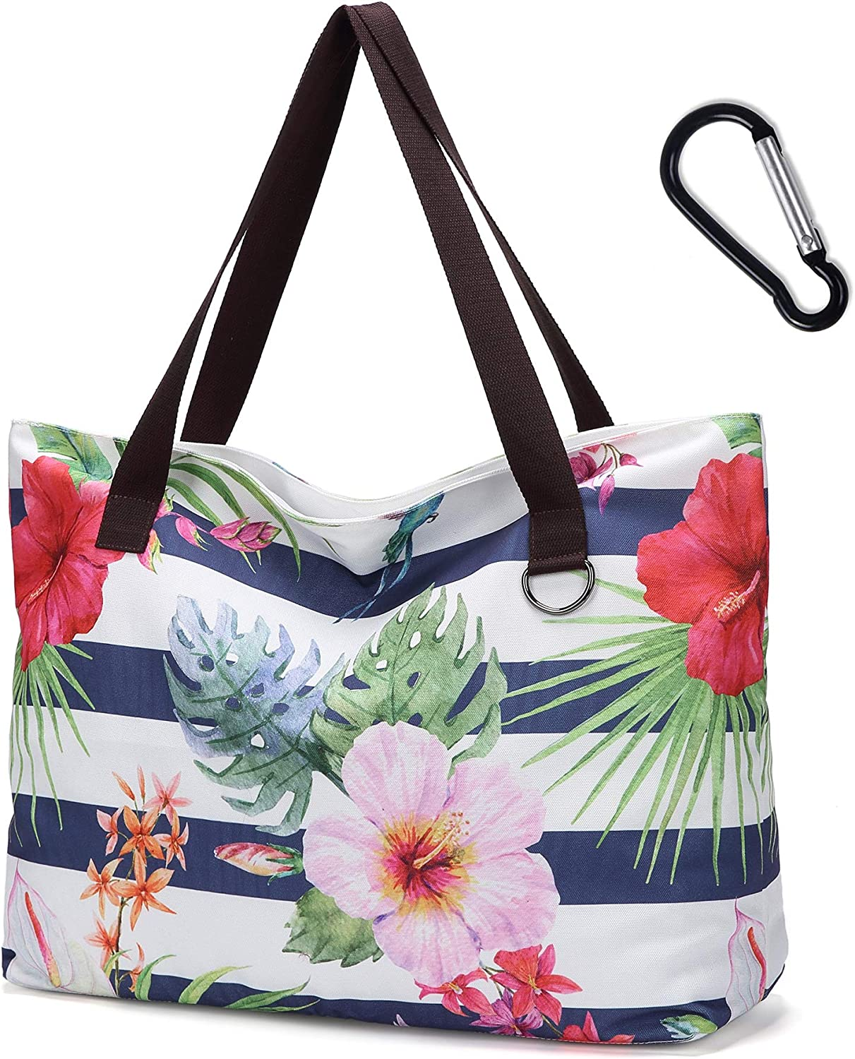 Extra Large OFFicial mail order Beach Tote Bags Waterproof Sandproof Travel Ca - Max 46% OFF XXL