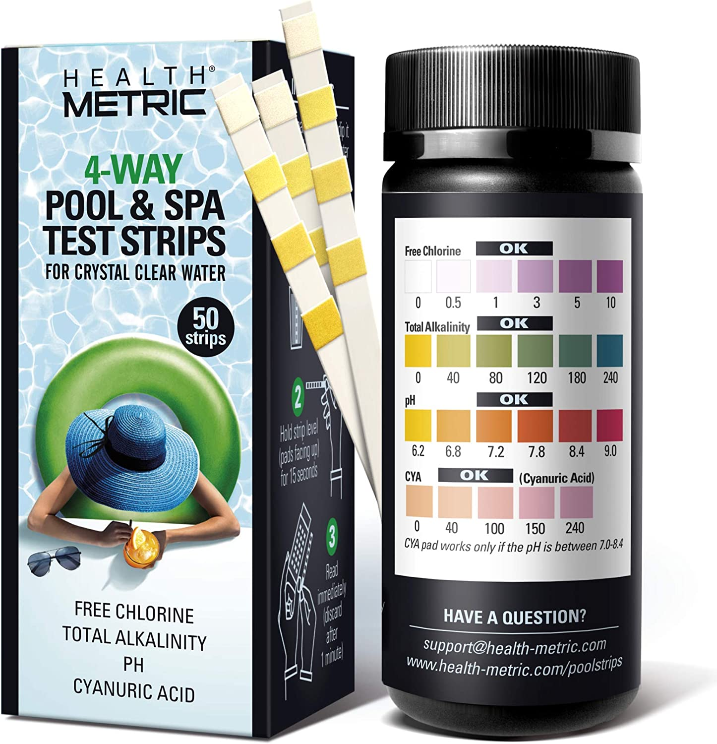 Max 65% OFF Pool and Spa New Shipping Free Test Strips - 4 Swimming Way Kit Strip Testing