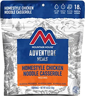 Mountain House Homestyle Chicken Noodle Casserole | Freeze Dried Backpacking & Camping Food