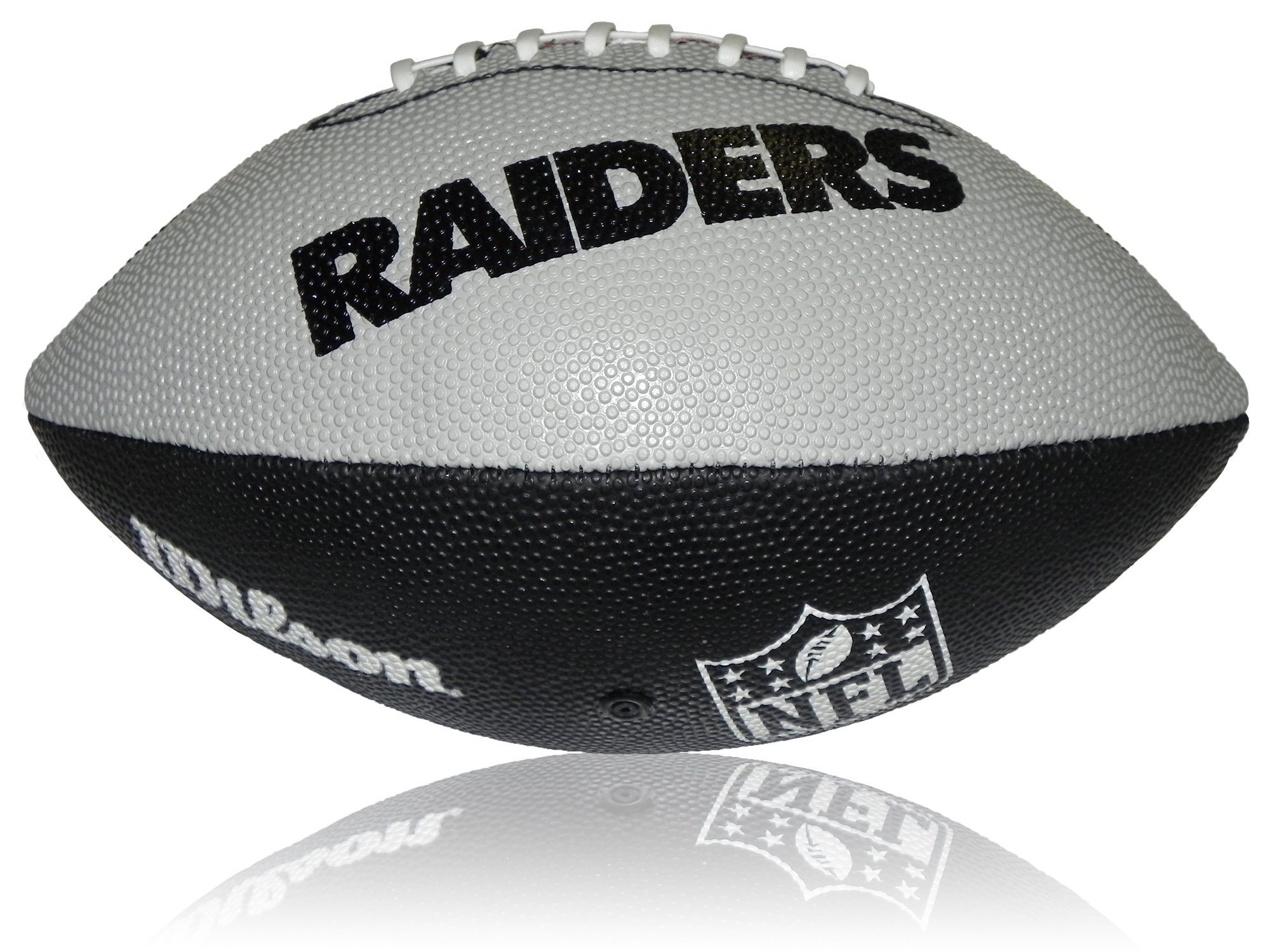 Wilson Football NFL Junior Oakland Raiders Logo - Balón de fútbol ...