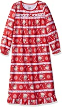 The Elf on the Shelf Girls Flannel Christmas Holiday Granny Gown Nightgown Pajamas