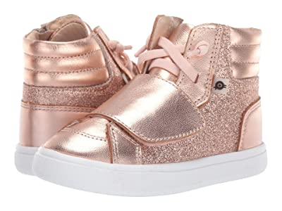 Old Soles O-Glam Shoe (Toddler/Little Kid) (Glam Copper/Copper) Girl