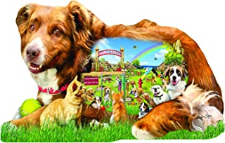 Dog Park Shaped 1000 pc Jigsaw Puzzle by SunsOut