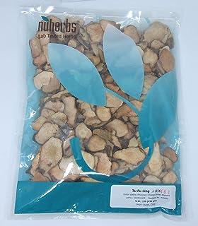 Nuherbs Sarsaparilla Root Slices/Tu Fu Ling/Smilax Glabra, 1lb or 16oz Bulk Herb