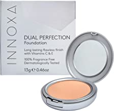 Innoxa Dual Perfection Natural Foundation Makeup Cosmetics- Honey Glow