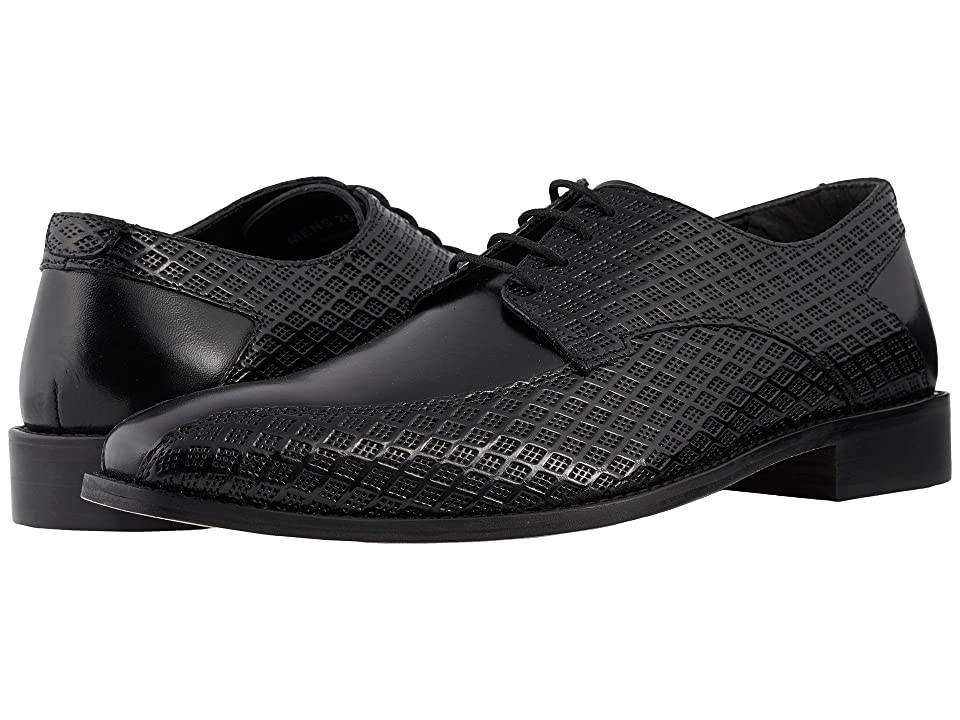 Stacy Adams Gianluca Bike Toe Oxford (Black) Men
