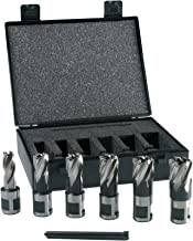 Evolution Power Tools Short Series Magnetic Drilling Cutter Kit, 25 mm (Pack of 6)