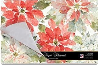 Cala Home 24-Pack Disposable Paper Placemats, Home for the Holiday