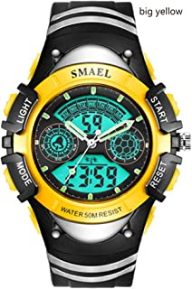 Kids Digital Watch Boys Sports Waterproof Quartz Wrist Watches with Alarm Stopwatch for Youth Childrens