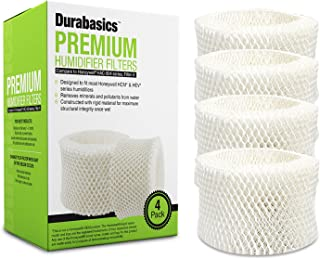 4 Pack of Premium Humidifier Filters | Compatible with Honeywell Humidifier Filter HAC-504, HAC-504AW & Honeywell Filter A | Replacement for Honeywell Filter HCM 350 & Other Cool Mist Humidifiers