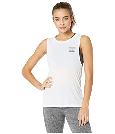 FOR BETTER NOT WORSE Holding It Together Venice Muscle Tank Top (White) Women