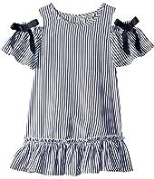 Nancy Cold Shoulder Dress (Toddler/Little Kids)