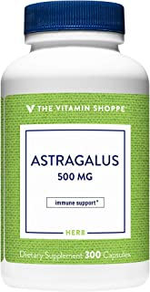 Astragalus (Root) 500mg Herbal Supplement to Support The Immune System Body's Natural Defenses Helps Build Stamina, Energy...