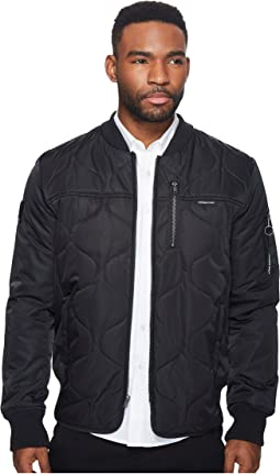 Members Only - Oval Quilted Bomber Jacket