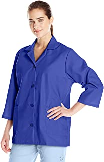 royal blue smock