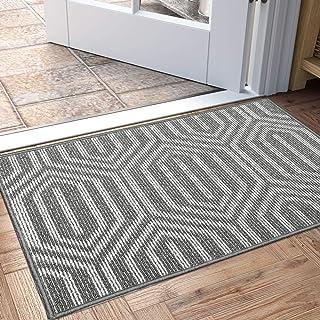"""Best DEXI Indoor Doormat, Non Slip Absorbent Resist Dirt Entrance Rug, 24""""x36"""" Machine Washable Low-Profile Inside Floor Door Mat Review"""