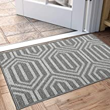 "Indoor Doormat, Non Slip Absorbent Resist Dirt Entrance Rug, 32""x48"" Large Size Machine Washable Low-Profile Inside Floor ..."