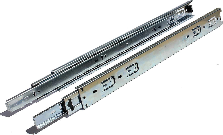 GlideRite Hardware 1070-ZC-10 10 inch 100 lb 1 inch 10 Pack 10