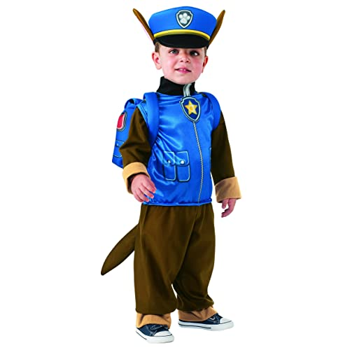 c56d13b2 Rubie's Official Paw Patrol Chase, Child Costume - Toddler 1 -2 Years