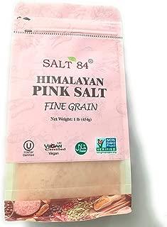 Salt 84 Himalayan Pink Salt (2 bags)