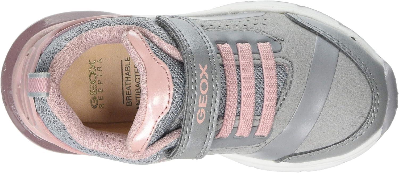 Geox Girls Spaceclub Light-Up Sneaker