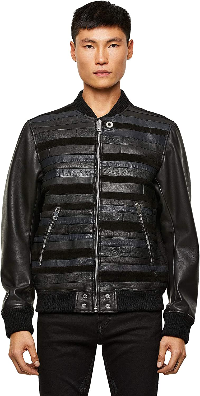 Diesel L-Roger Leather Jackets