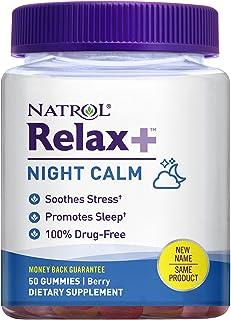 Natrol Relaxia Night Calm Berry - 50 Gummies