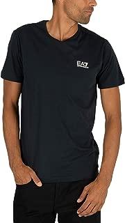 EA7 Men's Chest Logo T-Shirt, Blue