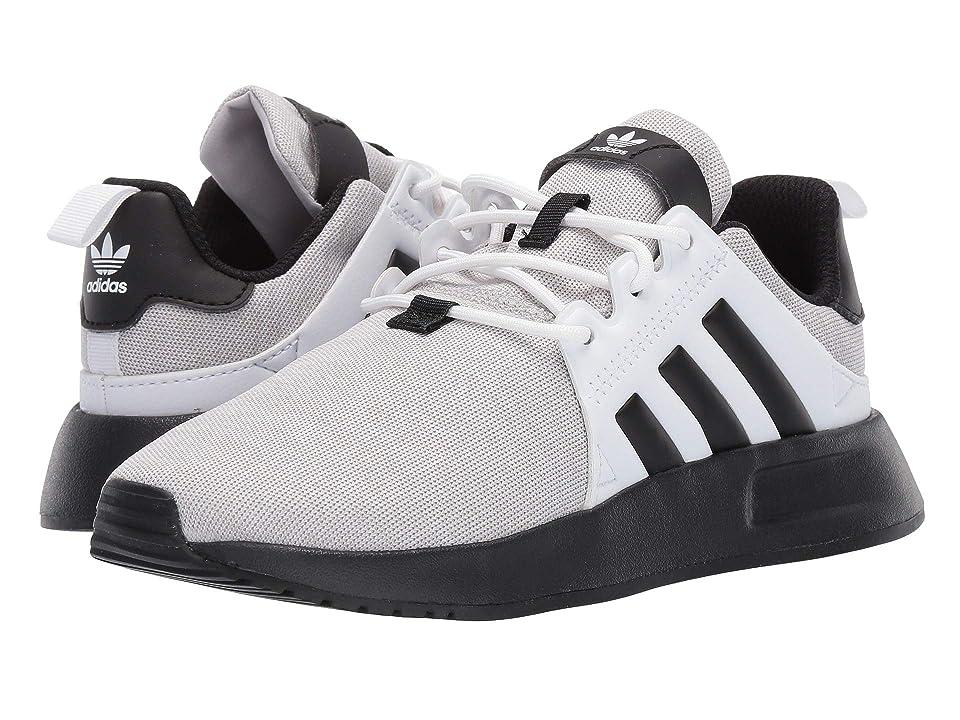 adidas Originals Kids X_PLR C (Little Kid) (Light Grey Heather/Black/White) Boys Shoes