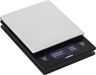 Hario Stainless Steel V60 Drip Coffee Scale, Metal