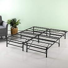 "Zinus 12"" SmartBase Mattress Foundation Bed Frame, Full, Black"