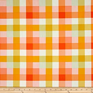 Art Gallery Day Trip Summer Picnic Plaid, Quilting Fabric by the Yard