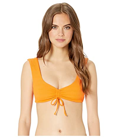 L*Space Clear Water Texture Frida Top (Tangerine) Women