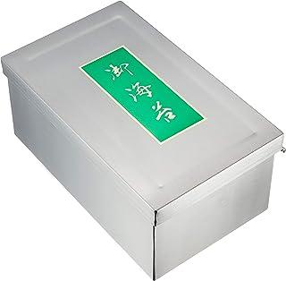 遠藤商事 業務用 蝶番付のり缶 大(10束入) ステンレス 日本製 BNL04