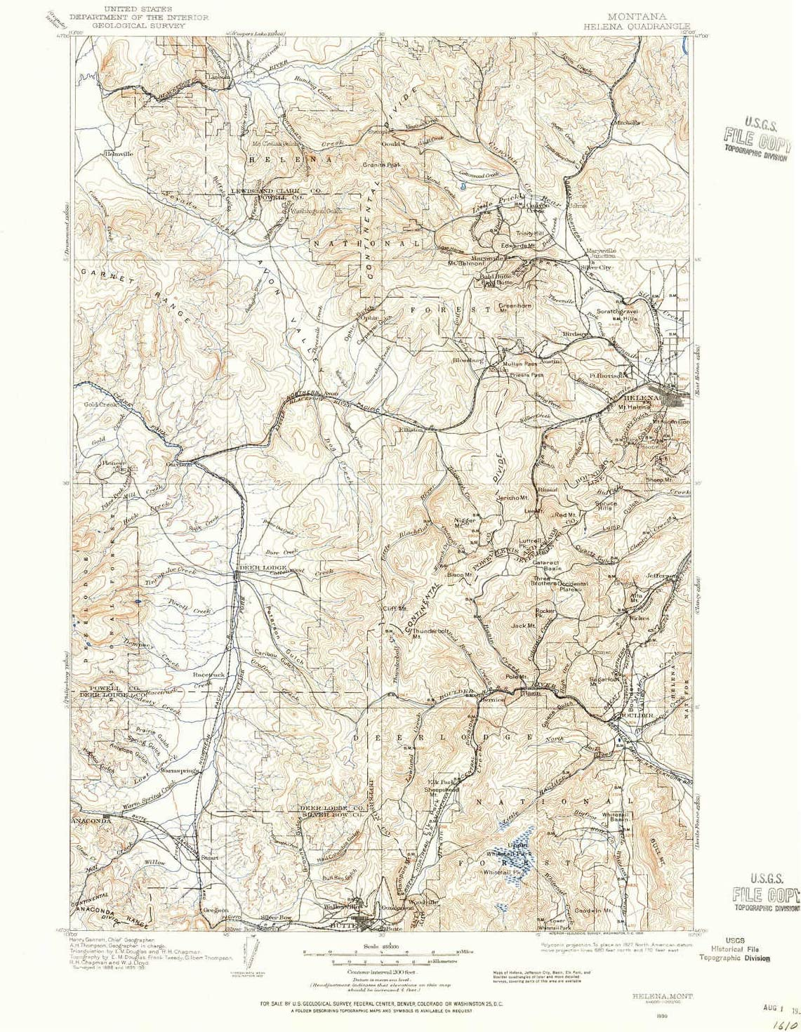 YellowMaps Helena MT topo Max 65% OFF map 1:250000 X Degree His Ranking TOP5 1 Scale
