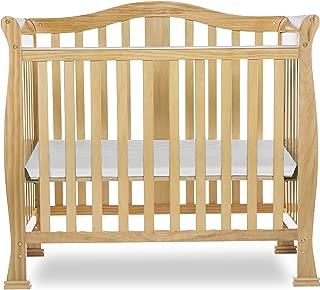 Dream On Me Addison 4 in 1 Convertible Mini Crib, Natural