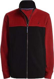 Nautica Boys Uniform Full-Zip Fleece Jacket Long Sleeve Sweater