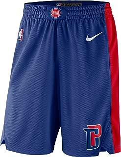 Nike Detroit Pistons Swingman Basketball Shorts (Small)