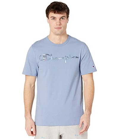 Champion LIFE Heritage Short Sleeve T-Shirt (Wildflower Pale Blue) Men
